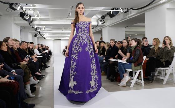 Fashion from the Oscar de la Renta Fall 2013 show