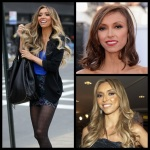 Rancic red carpet hair 2013
