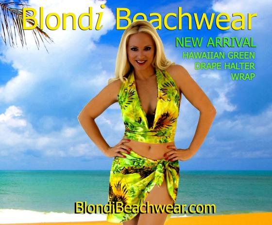 Hawaiian-green-beachwear-coverups