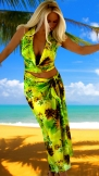 Hawaiian-Green-halter-pareo
