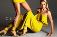 Ruffles in yellow