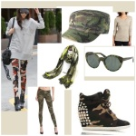 Camouflage clothing fashion