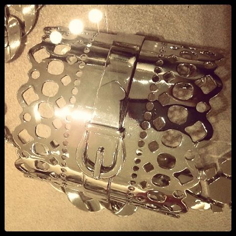 BCBG_silver_lace_buckle_cuff