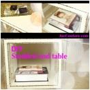 DIY Studded end Table