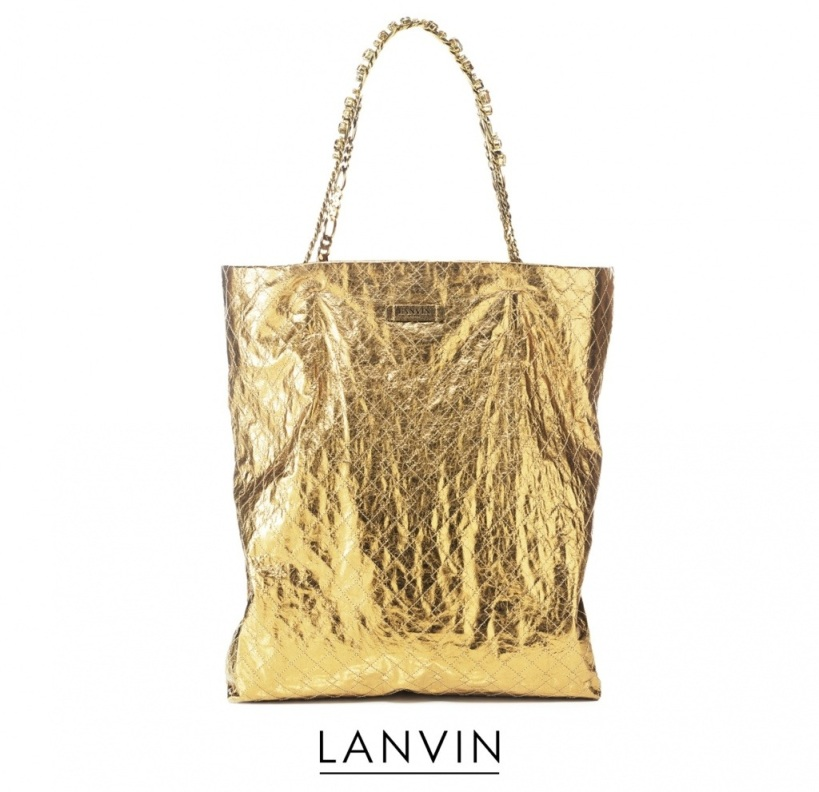 Lanvin_gold_tote_bag