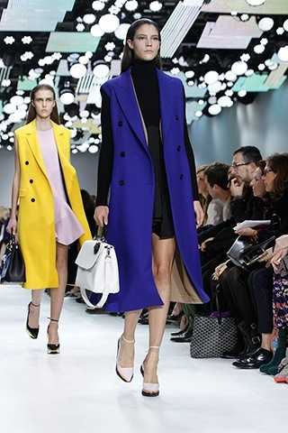 Dior fall runway fashion trends