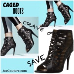 Spring 2014 caged heel shoe trend