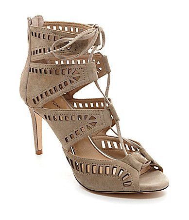Antonio Melani Deana Perforated Dress Sandals
