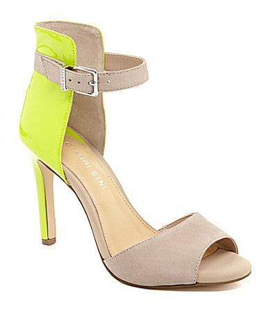 Gianni Bini Jaxxon High-Back Dress Sandals