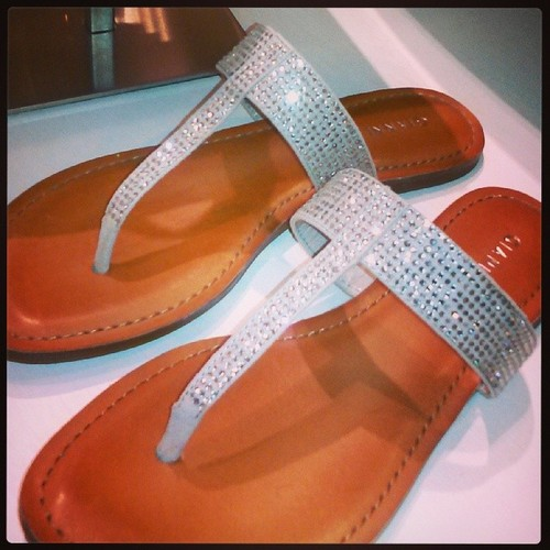 Gianni_Binni crystal sandals
