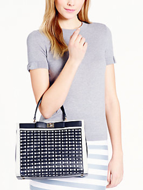 kate spade new york Mayfair Drive Perforated Tullie Top Handle Bag_2