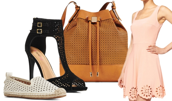 perforated fashion trend